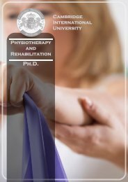 Physiotherapy_ Rehabilitation_PhD