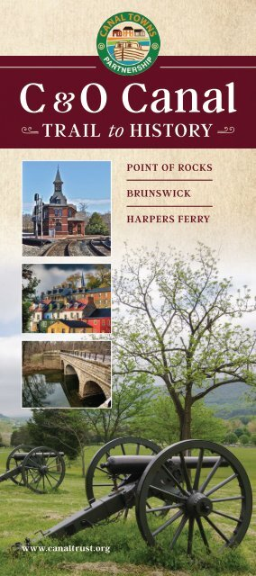 C&O Canal Trail to History: Point of Rocks, Brunswick, Harpers Ferry