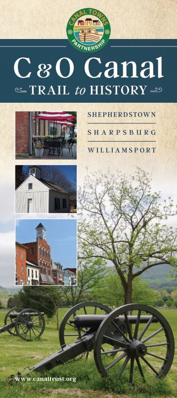 C& Cala Trail to History: Shepherdstown, Sharpsburg, Williamsport