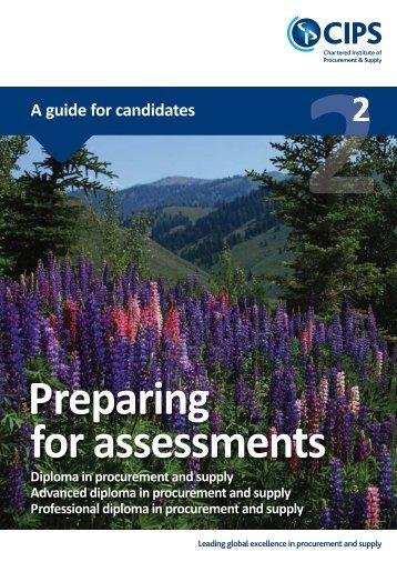 Preparing for CIPS Diploma level assessments