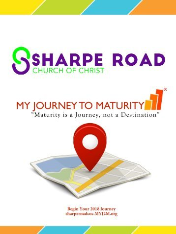 My Journey to Maturity at Sharpe 2018