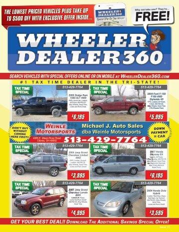 Wheeler Dealer 360 Issue 10, 2018