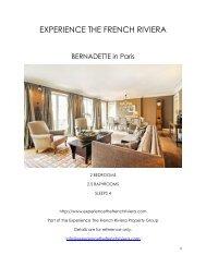 Bernadette - Paris