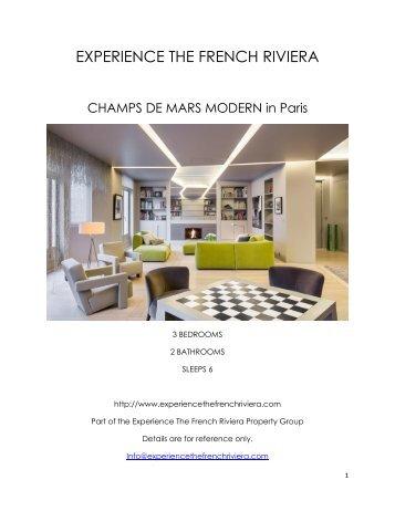 Champs de Mars Modern - Paris