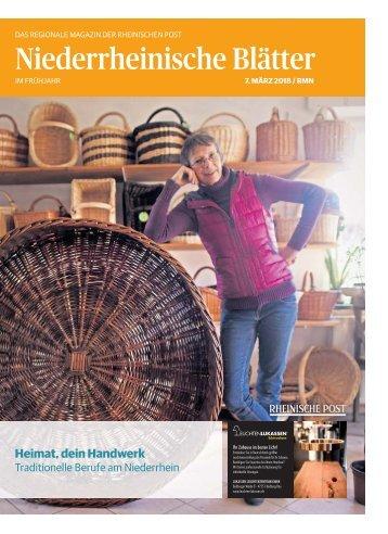 Niederrheinische Blätter  -07.03.2018-