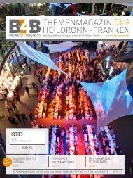TAGUNGEN, EVENTS & CATERING | B4B Themenmagazin 03.2018