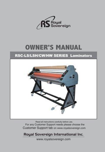 Royal Sovereign RSC-1402HW Heat Assist Wide Format Laminator Machine - PrintFinish.com