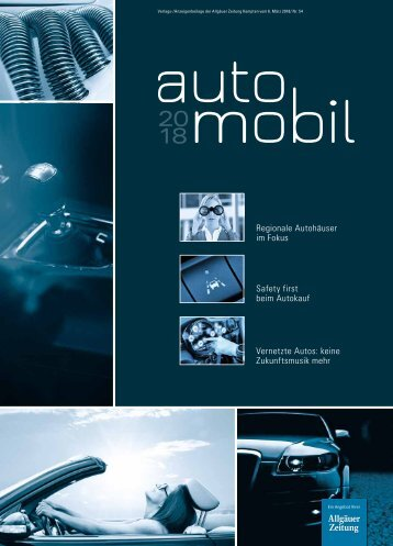 """automobil""-Magazin für Kempten"