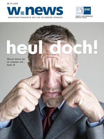 FACHKRÄFTEMANGEL REDUZIEREN| w.news 03.2018