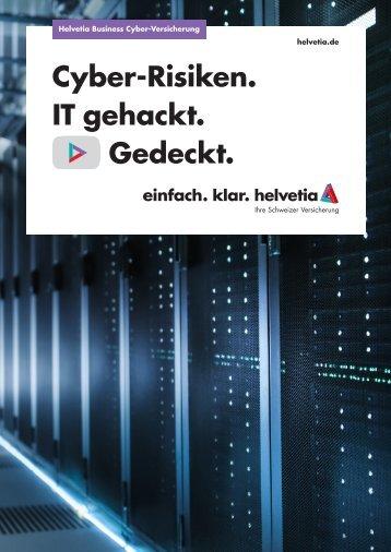 Helvetia Business Cyber 2018