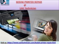 Get the support for Kodak Printer Call@+971-523252808