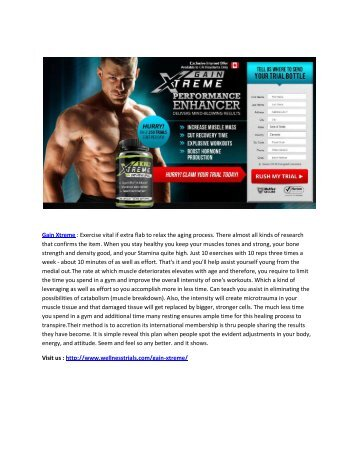 Increase your T-level with Gain Xtreme