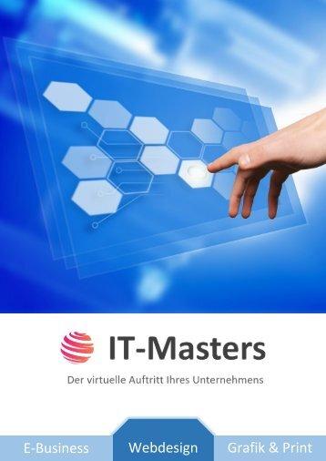 Broschüre IT-Masters