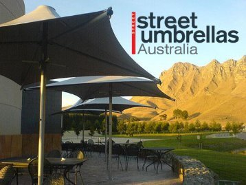 Varieties of Tensile Membrane Structures at Street Umbrellas Australia