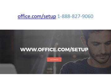 office.com setup 2016