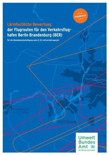 POTSDAM BERLIN M Lärmfachliche Bewertung der Flugrouten für ...