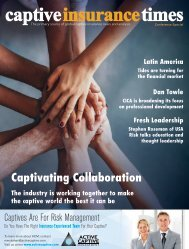 Captive Insurance Times issue 143