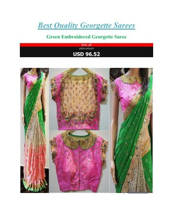 Best_Quality_Georgette_Sarees
