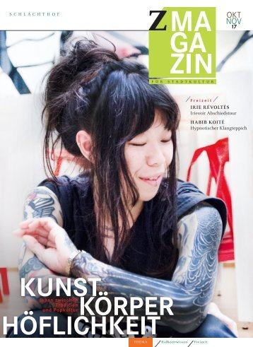 zett Magazin Oktober / November
