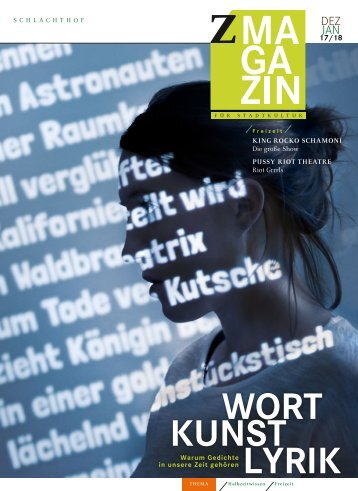 zett Magazin Dezember / Januar