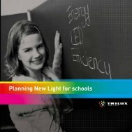 Planning New Light for schools - Proljus AB