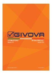 Catalogo Givova