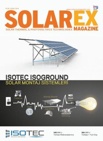 Solarex Magazine Ocak Şubat 2018