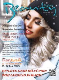 Beauty Turkey Mart-Nisan 2018