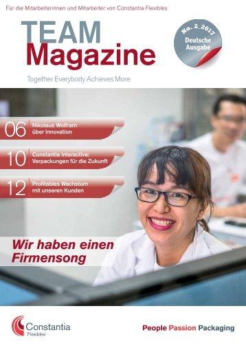 Team Magazine No. 2 2017