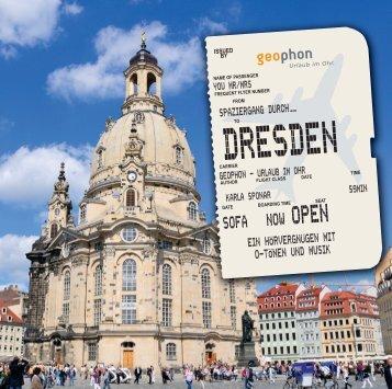 geophon Hörbuch Dresden Booklet
