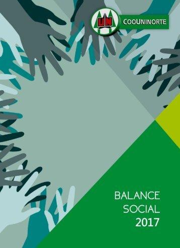 BALANCE SOCIAL COOUNINORTE AÑO 2017