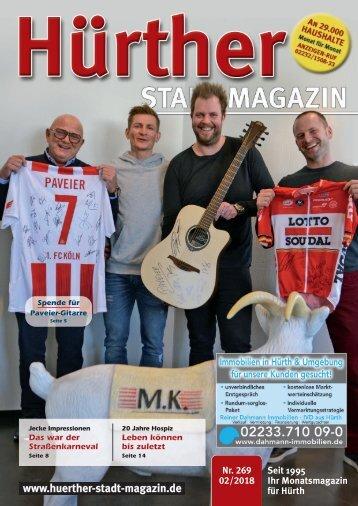 Hürther Stadt Magazin Februar 2018