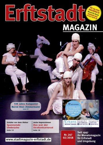 Erftstadt Magazin Februar 2018