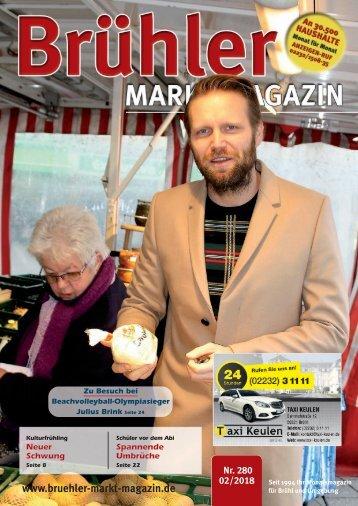 Brühler Markt Magazin Februar 2018