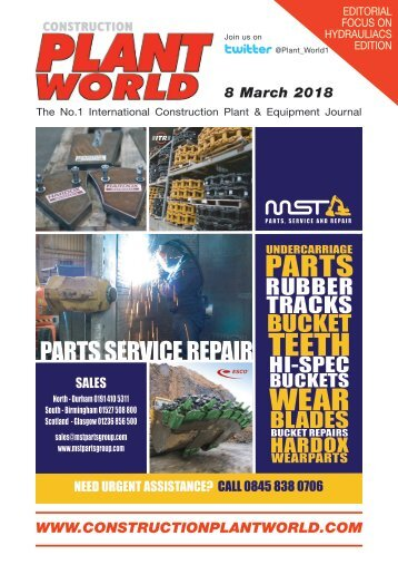 Construction Plant World 8th March 2018