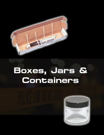 Boxes, Jars & Containers
