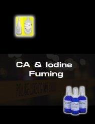 CA & Iodine Fuming