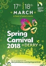 Spring Carnival Programme
