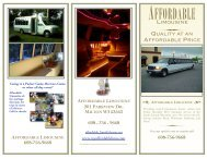Affordable Limo Brochure New 2 - Affordable Limousine