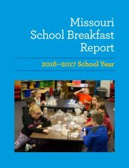 MO Breakfast Report