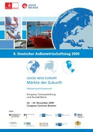 25. November 2009 Congress Centrum Bremen - WFB ...