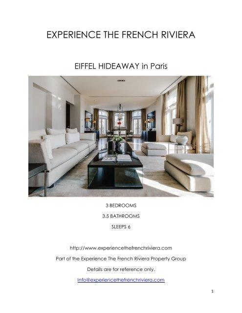 Eiffel Hideaway - Paris