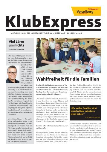Klubexpress März 2018