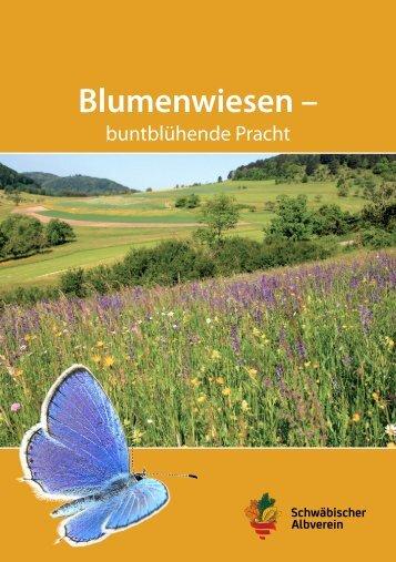 """Broschüre """"Blumenwiesen - buntblühende Pracht"""""""