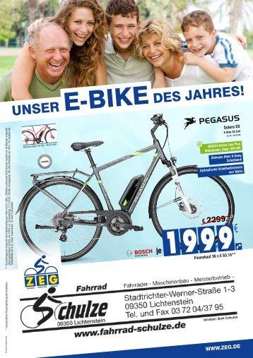 Fahrrad Schulze - 17.03.2018