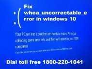 18002201041 Fix whea_uncorrectable_error in windows 10