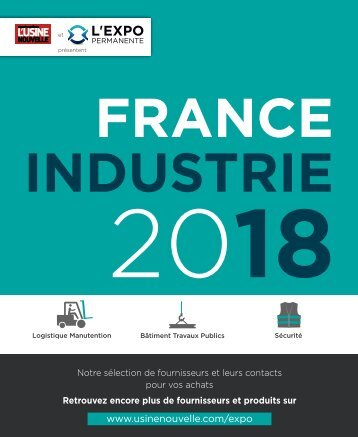Guide France Industrie 2018