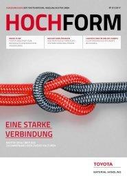 Kundenmagazin HOCHFORM