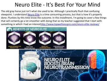 Neuro Elite - It's Best For Your Mind.output
