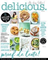 delicious. editie 4 - april 2018 - inkijkexemplaar